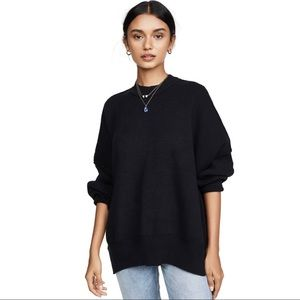 NWT FREE PEOPLE Easy Street Tunic Black